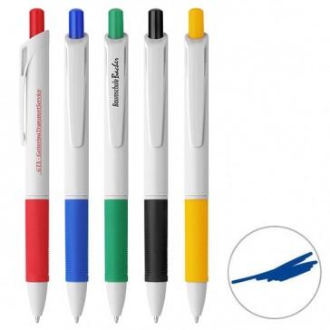 Druckkugelschreiber farbige Softgripzone (ab 500 Stück)