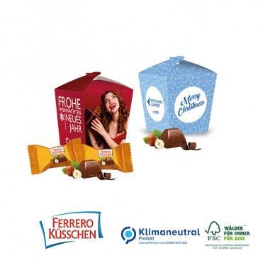 Präsentverpackung Style mit Ferrero Küsschen bedrucken