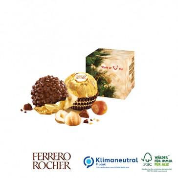 Werbewürfel Ferrero Rocher bedrucken