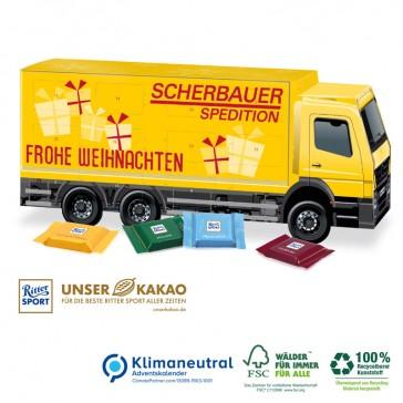 LKW-Kalender mit Karton aus nachhaltiger Forstwirtschaft