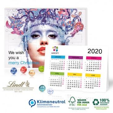 Lindt Minikugeln Adventskalender mit Jahresplaner
