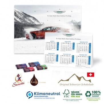 Sarotti Kalender bedrucken 2 in 1 Adventskalender Weihnachtskalender