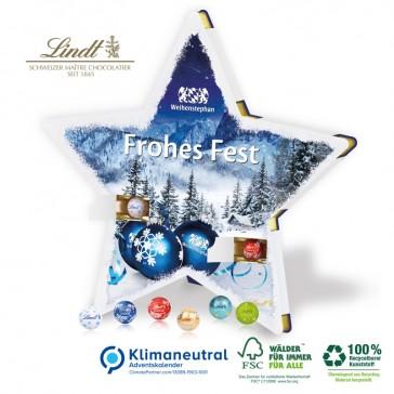 Nachhaltiger Stern-Adventskalender