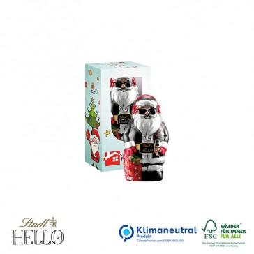 Lindt Hello Xmas Santa Mini 10g bedrucken