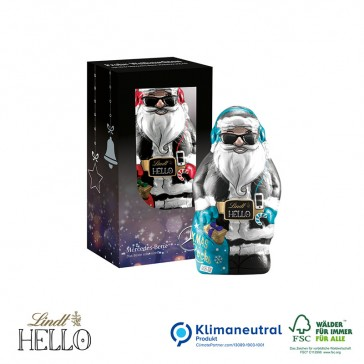 Lindt Hello cooler Xmas Santa 80g in Werbeverpackung