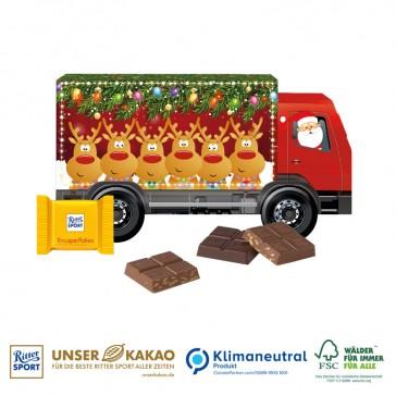 Recycelbarer Weihnachts-Express als Präsent