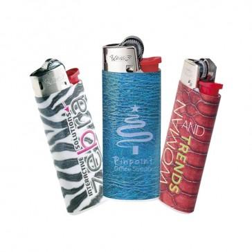 Bunte Farben, kleine Schriften und Verläufe sind kein Problem mit dem Digitaldruck Feuerzeug J25 von BiC