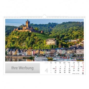 Bildkalender oder Fotokalender mit Thema Deutschland als Werbeartikel bedrucken