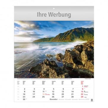 Bildkalender Traumreise bedrucken: Jeder Monat ein anderes Foto