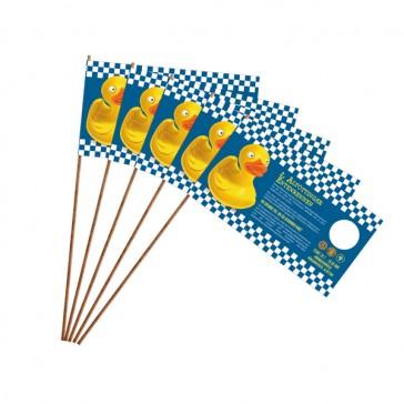 Papierfahnen mit Holzstab bedrucken Format S