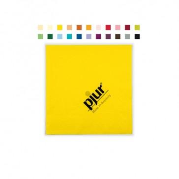 Farbige Servietten im Flexodruck bedrucken für hohe Stückzahlen