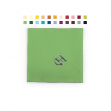 Farbige Tissue Cocktailservietten im Prägedruck