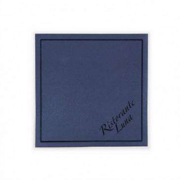 Farbige Quadratische Tassendeckchen als Untersetzer bedrucken mit eigenem Logo