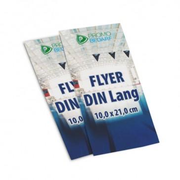 DIN Lang Flyer bedrucken als personalisiertes Werbemittel oder Branding-Flugblatt