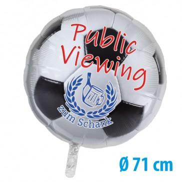 Folienballon 71cm bedrucken mit Foto