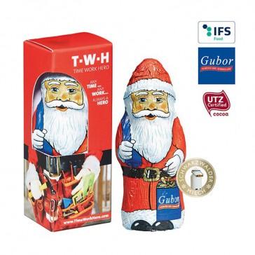 Gubor Weihnachtsmann in der Werbe-Box (ab 500 Stück)