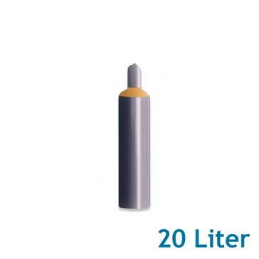 Helium Ballongas 20 Liter 3,6m³ Leihflasche inkl. Transport (1 Stück)