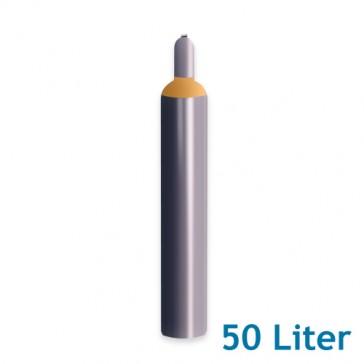 Helium Ballongas 50 Liter 9,2m³ Leihflasche inkl. Transport (1 Stück)