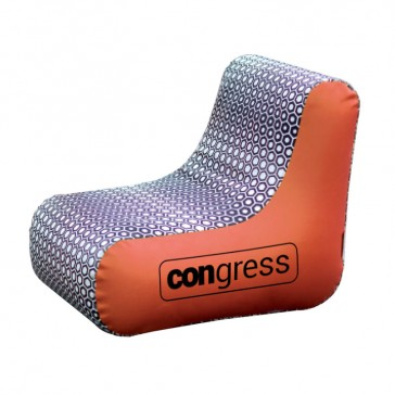 Aufblasbarer Stuhl bedrucken