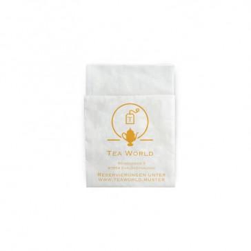 TeaWorld Spenderservietten Compact Falz bedrucken