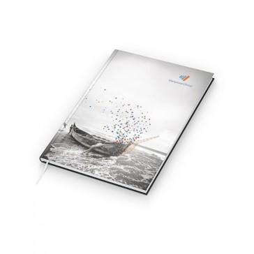 Notizbuch Note-Book A5 Bestseller - Cover-Star 4C-Digital (ab 50 Stück)