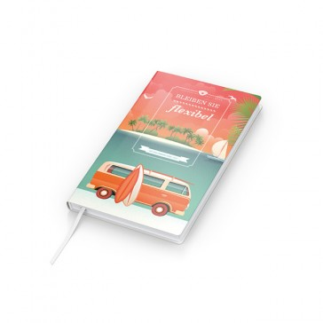 Notizbuch Note-Book Pocket Bestseller - Cover-Star 4C-Digitall (ab 50 Stück)