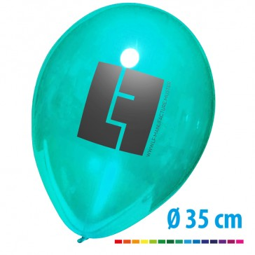 Große Kristall Luftballons bedrucken als Werbeartikel