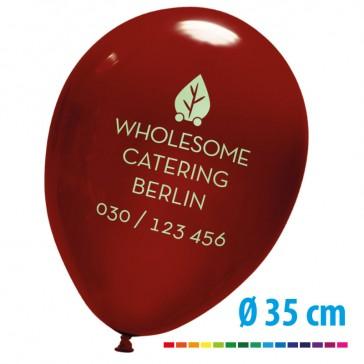 Riesige Luftballons bedrucken mit eigenem Motiv