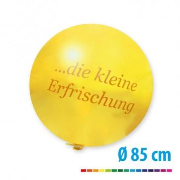 Riesenballons 85 cm als Werbeträger mit Logo bedrucken