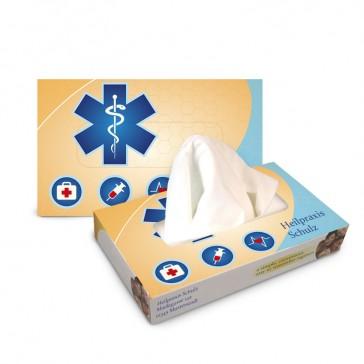 Serviettenspender oder Kleenexbox bedrucken als Taschentücher Zupfbox