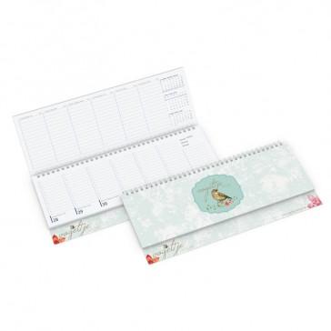 Tisch-Querkalender Compact als Terminkalender mit Firmenwerbung bedrucken