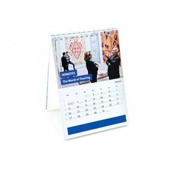 Tischkalender Hochformat mit Karton-Aufsteller jeder Monat individuell bedrucken