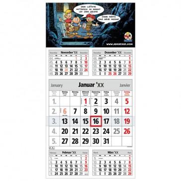 Wandkalender M5 bedrucken Take Five als Werbekalender