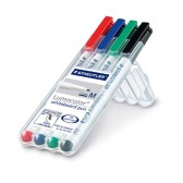 STAEDTLER Lumocolor Whiteboard Marker M in 4er Box 301WP4 (ab 250 Stück)