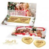 Lindt Herzen in Präsentbox Business zu Weihnachten 40g (ab 250 Stück)