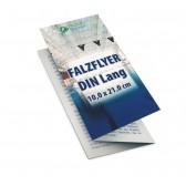 Faltblatt Falzflyer DIN lang (ab 1000 Stück)