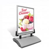 Kundenstopper DIN A1 Windmaster NT als Plakatständer inkl. Plakat bedrucken