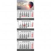 Mehrblock-Monatskalender Quadro Wire-O 4 Bestseller (ab 50 Stück)