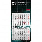 Mehrblock-Monatskalender Synergy 4 (ab 50 Stück)