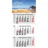 Mehrblock-Monatskalender Medium 3 (ab 50 Stück)