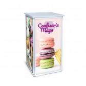 Minitheke Square Counter inkl. Digitaldruck und Tasche