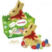 Lindt Premium-Osternest mit Schokolade 100g (ab 100 Stück)