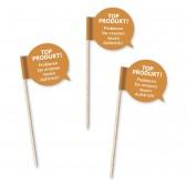 Sprechblase Minifahnen als Standard Partypicker (ab 100 Stück)