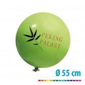Riesenluftballons 170 cm, Ø55 cm bedrucken (ab 10 Stück)