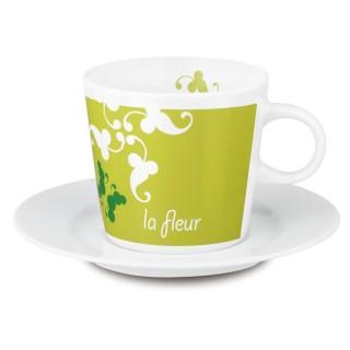 Fancy Cafe Set Tasse und Untertasse (ab 108 Stück)