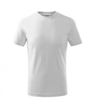 Kinder T-Shirt Basic weiß (ab 50 Stück)
