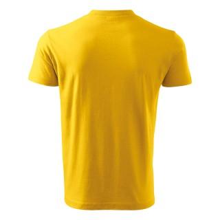 Unisex T-Shirt V-Neck farbig (ab 50 Stück)