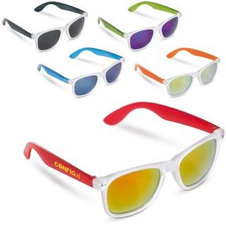 Trendige Sonnenbrille in gefrosteten Farben (ab 100 Stück)