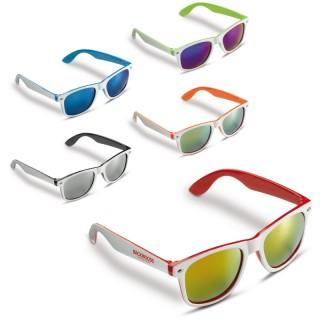 Sonnenbrille mit 2 farbigem Rahmen (ab 100 Stück)