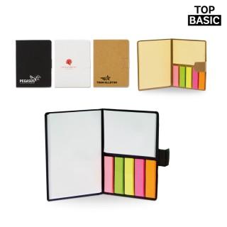 Notizbuch Eco mit Haftnotizen (ab 300 Stück)